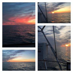und jeder neue Sonnenuntergang ist mehrere Fotos wer...