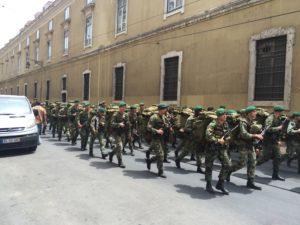 Militärparade zum Nationalfeiertag
