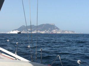 Gibraltar in Sicht